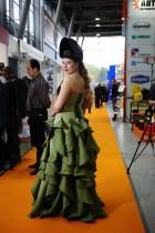 Вечернее сварочное платье